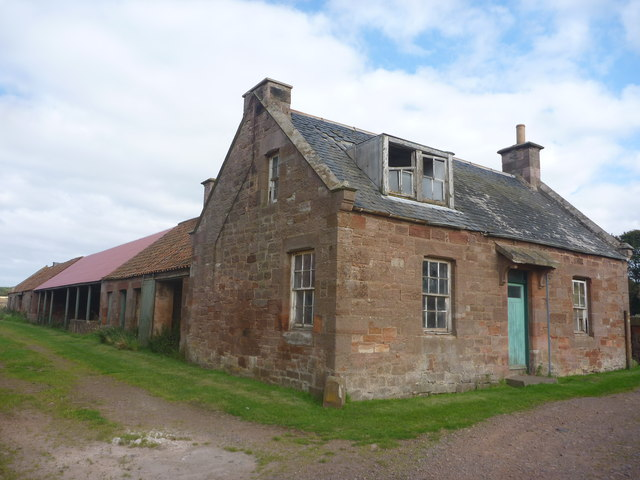 Rural East Lothian : Farmstead Buildings At Papple