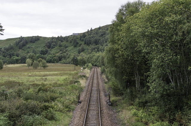 West Highland Line near Murlaggan