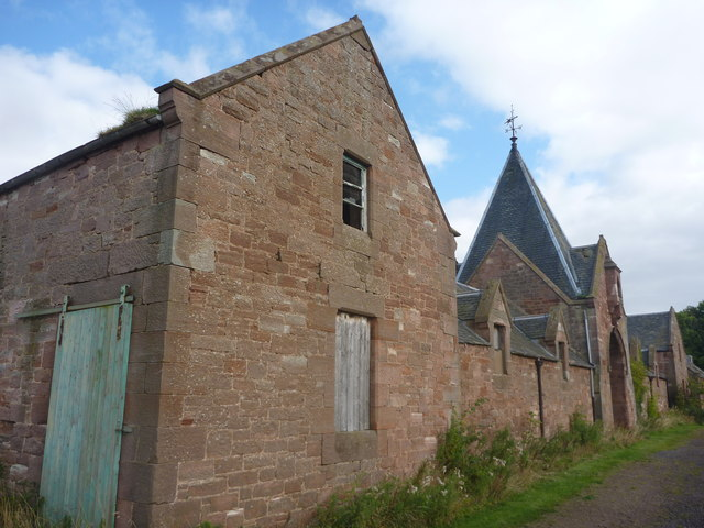 East Lothian Architecture : Farm Steading At Papple