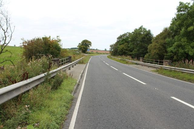 Coachford Bridge on the Road to Ochiltree