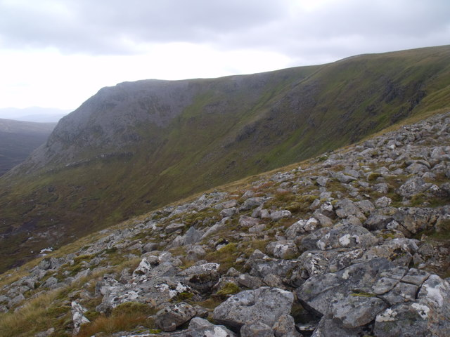 Coire Mharconaich in the Eidart system, Glenfeshie