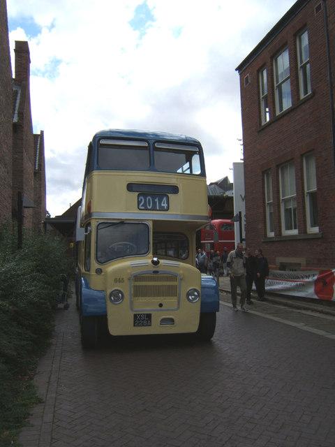 Bristol Lodekka XSL 228A bus