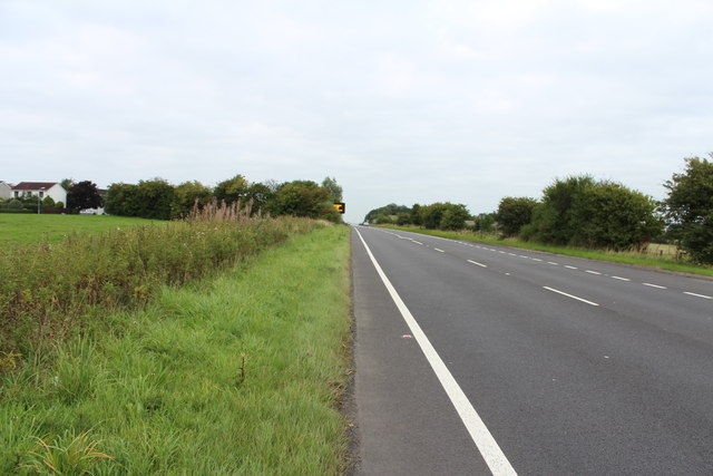 The A77 to Glasgow at Ayr