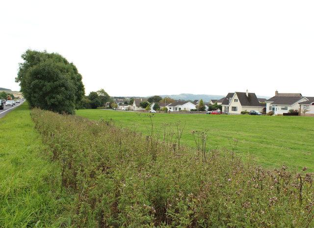 Housing Estate near Castlehill, Ayr