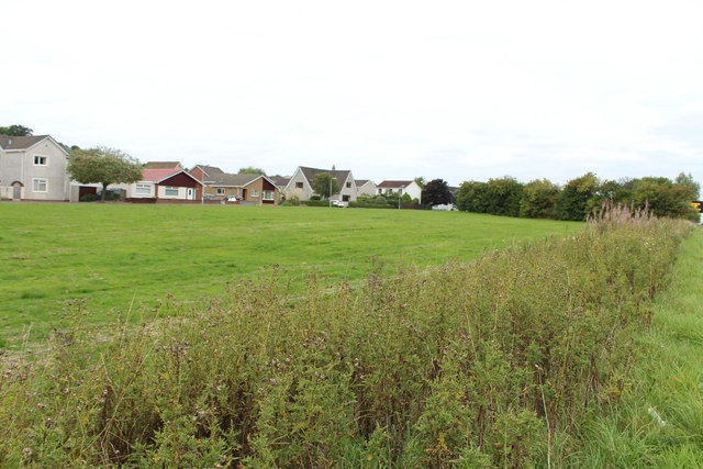 Housing Estate near Castlehill, Ayr