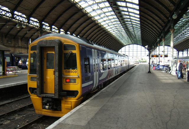 Hull Paragon Railway Station