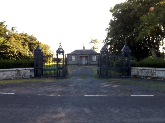 Entrance and West Lodge at Milne Graden Estate