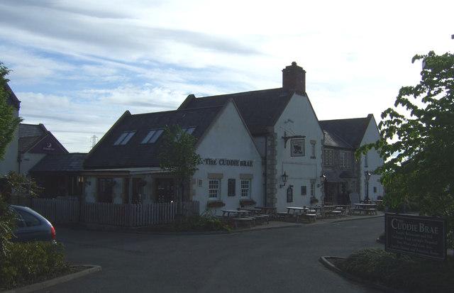 The Cuddie Brae pub, Newcraighall
