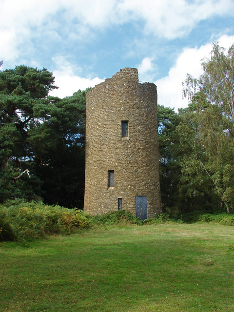 The tower, Chinthurst Hill