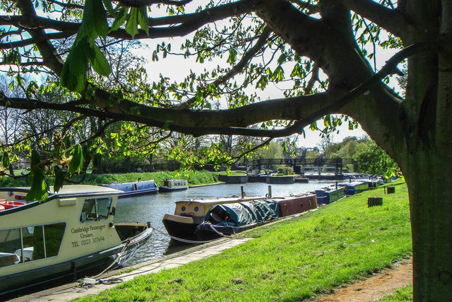 Houseboats on the Cam