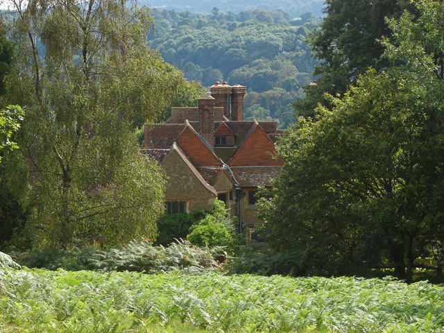 Rooftops from Chinthurst Hill