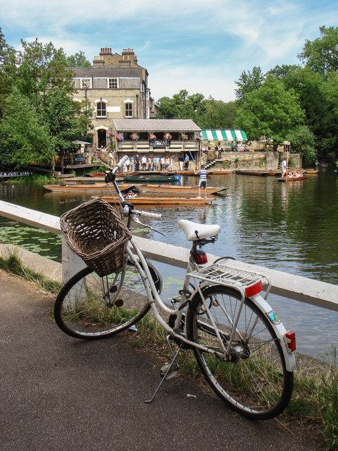 Bicycle by The Mill Pond