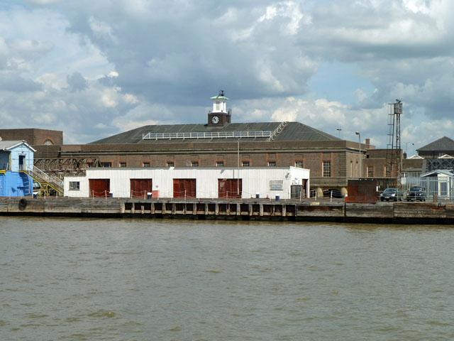 Former Tilbury Riverside station