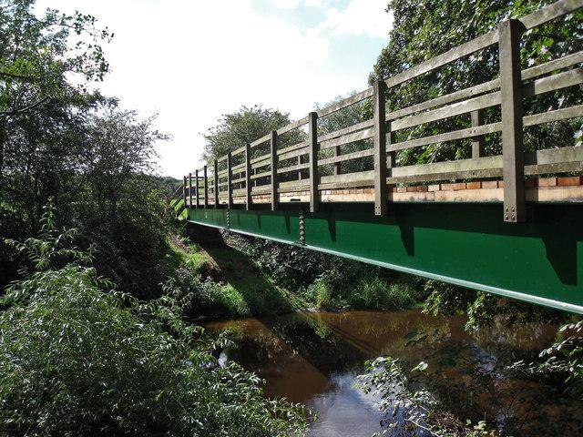 River Dane Footbridge