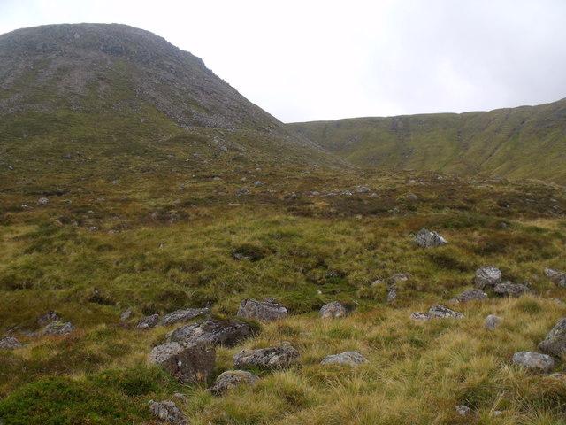 Slopes of Cnap nan Laogh above River Eidart, Glenfeshie