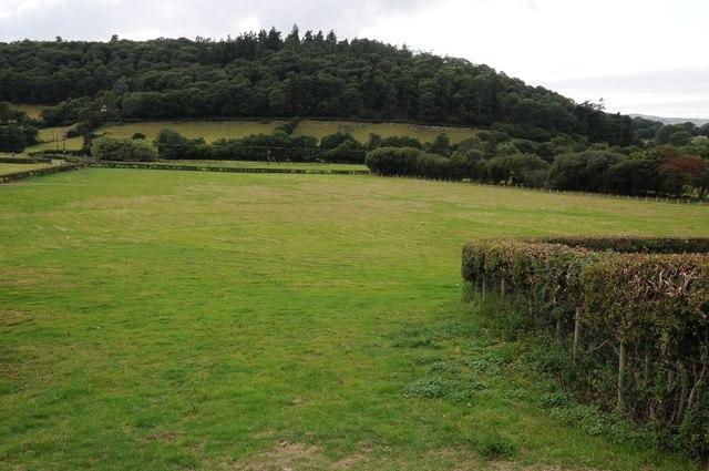 Farmland at Brymbo
