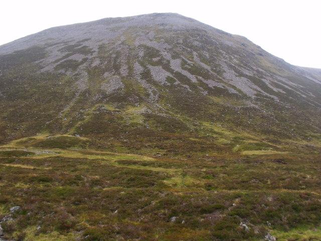 Leth-chreag above River Eidart, Glenfeshie