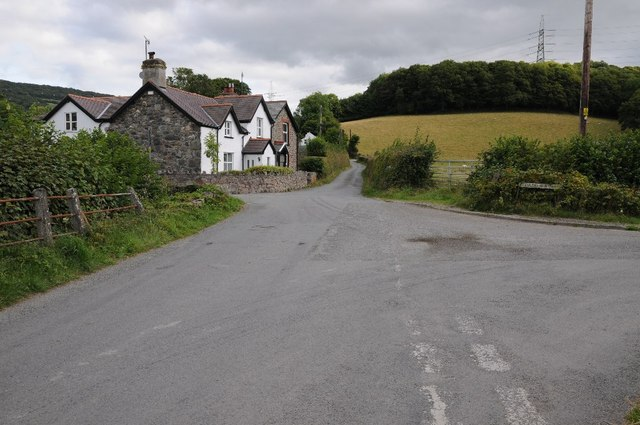 Cottage on a crossroads