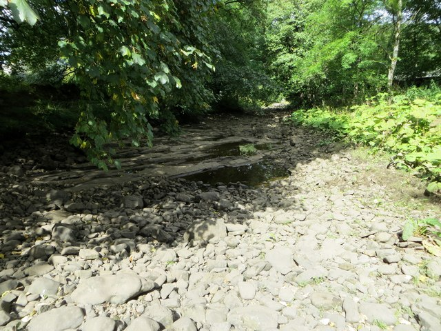 Dry river bed