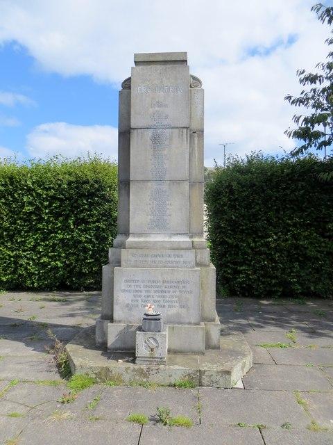 Settle war memorial