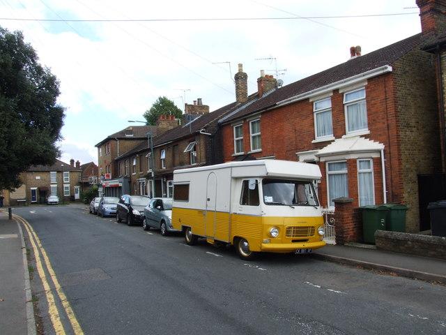 Classic Peugeot Camper Van, Upper Fant Road, Maidstone