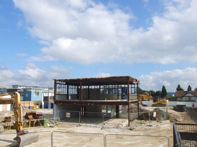 Demolition of the Astor of Hever School, Maidstone