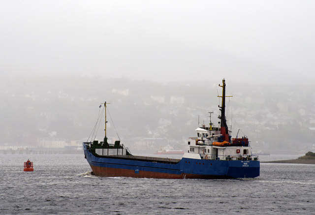 Isis off Corpach