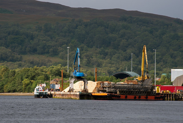 Corpach pier