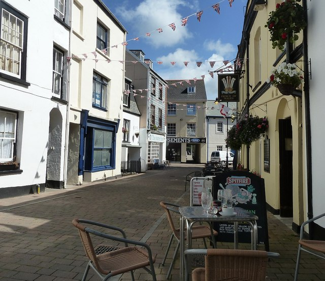 Ilfracombe - Eastern end of Fore Street