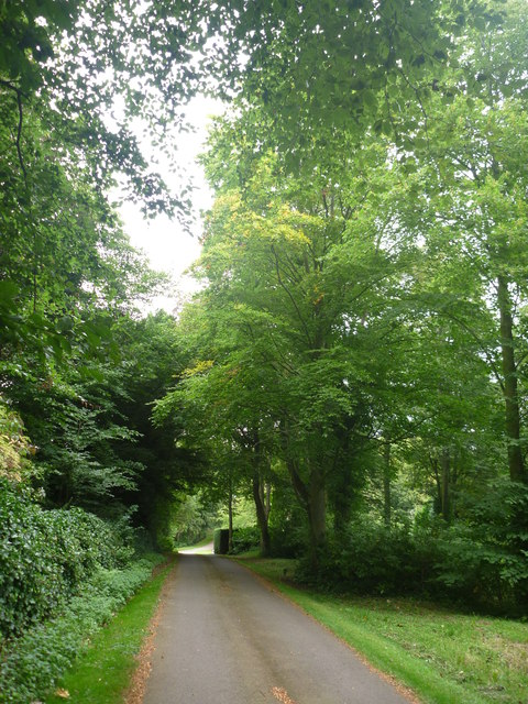 Rural East Lothian : The Road To Linplum House