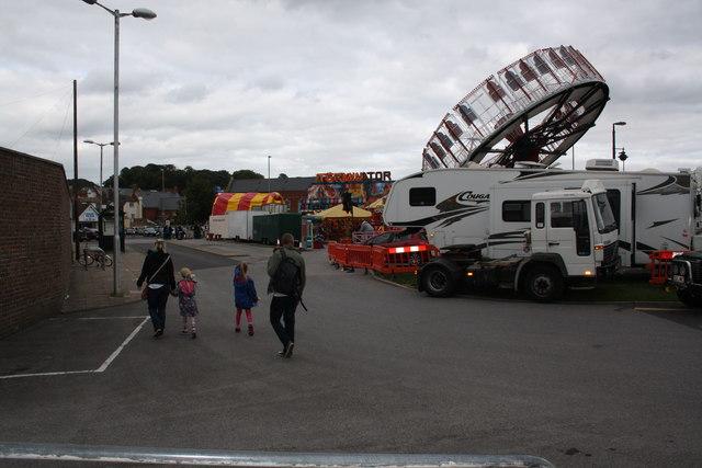 Bridport Carnival fair