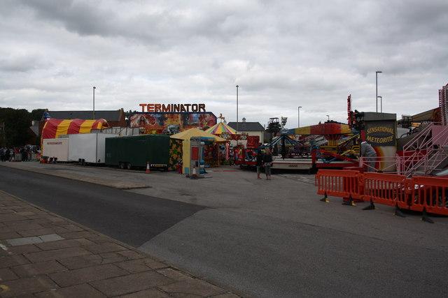 Bridport 2014 Carnival fair