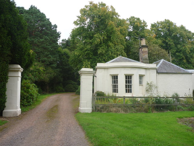 Rural East Lothian : Gateway To Beech Hill