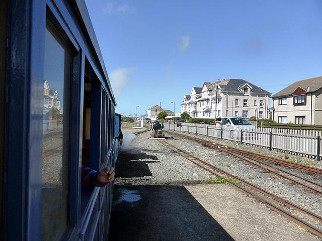 On the Fairbourne Railway