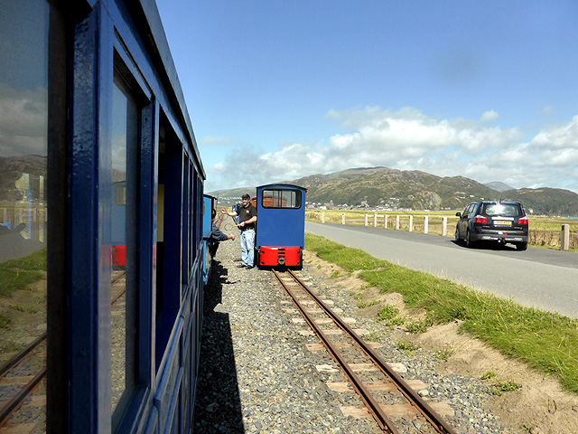 On the Fairbourne Railway