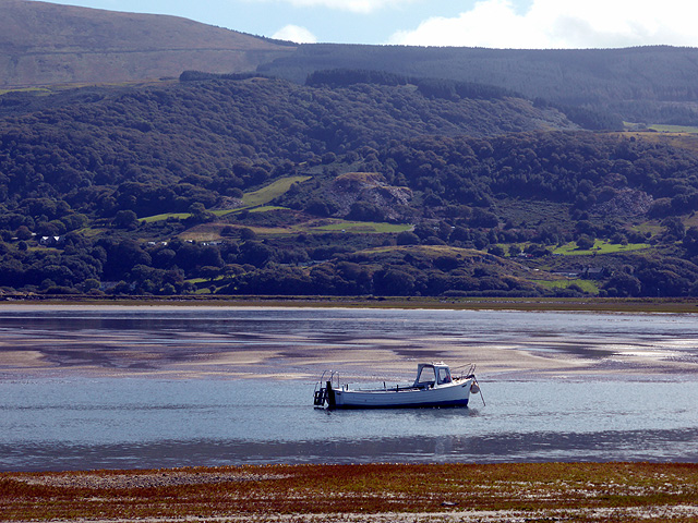 Moored in the estuary