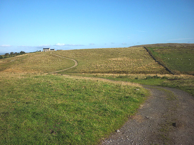 The track to Hill Top