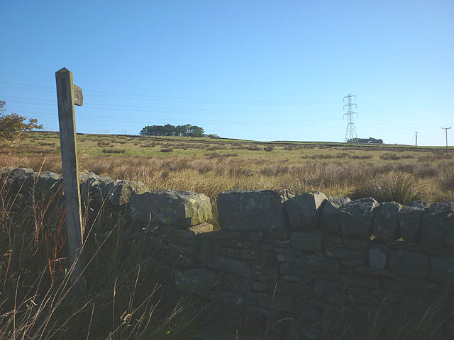 Footpath to Bayldon