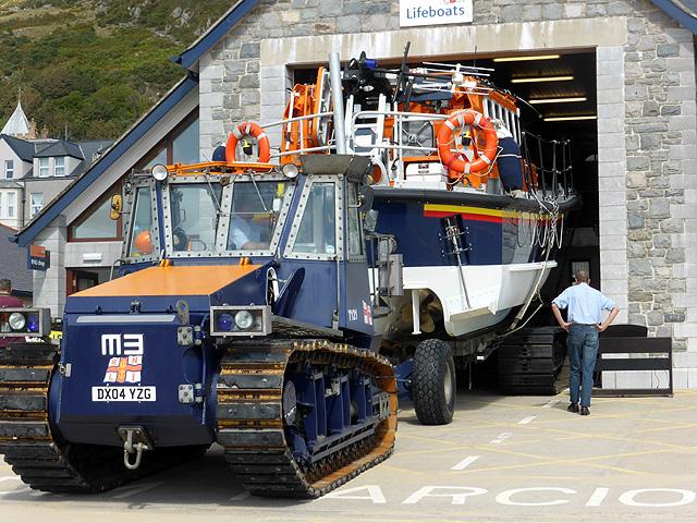 RNLI Barmouth dedication service