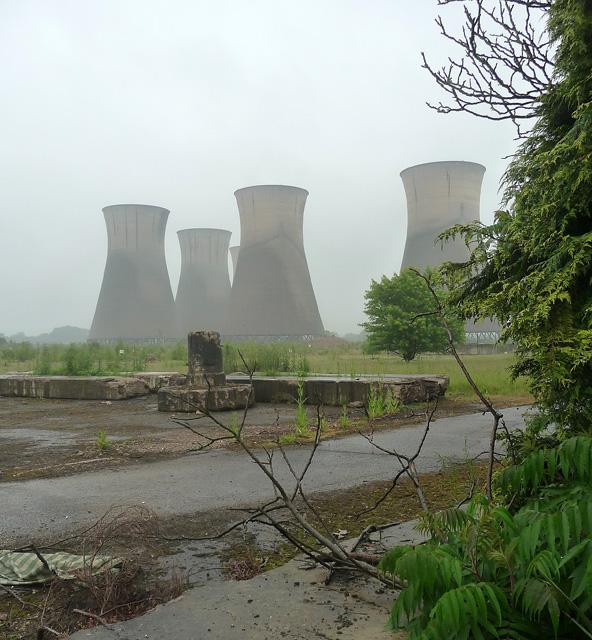 Disused power station, Willington