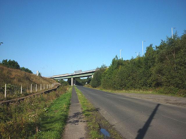 A69 flyover south of Haltwhistle