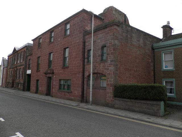 Former drill hall in Marketgate, Arbroath
