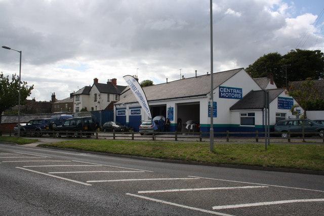 Central Motors, Sea Road North
