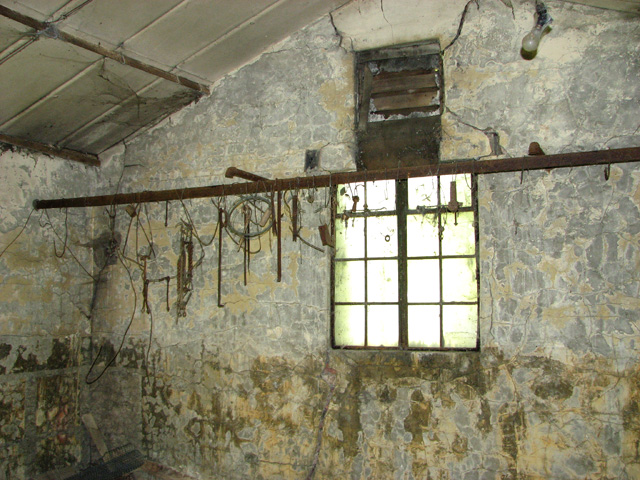 The old Ration store (interior)