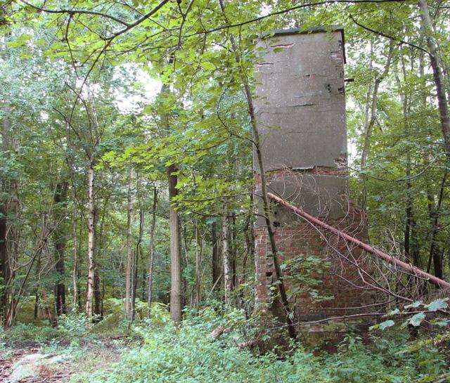 Remains of WW2 RAF campsite