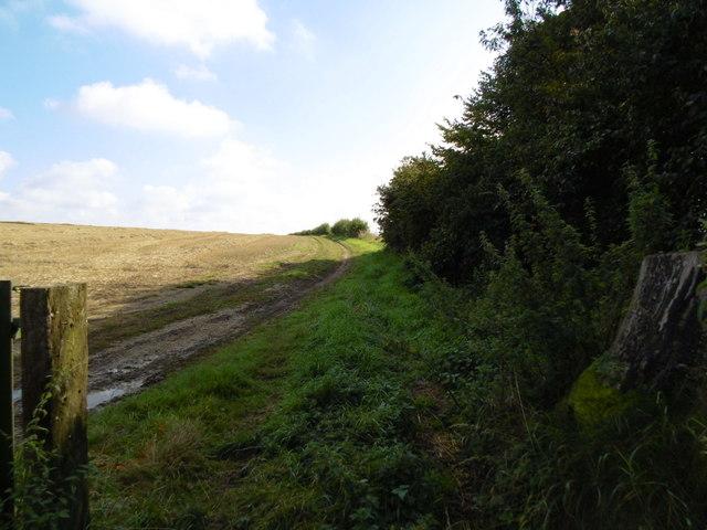 Bridleway towards Burwell