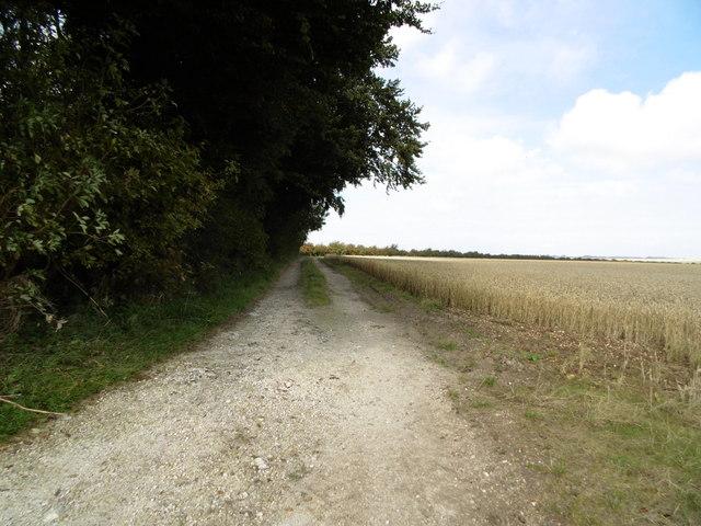 Footpath leading to Farforth
