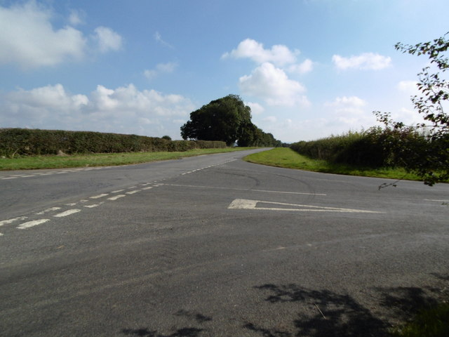 Bluestone Heath Road at Tetford Hill