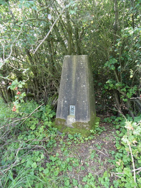 Trigpoint # BM S6057 at Tetford Hill