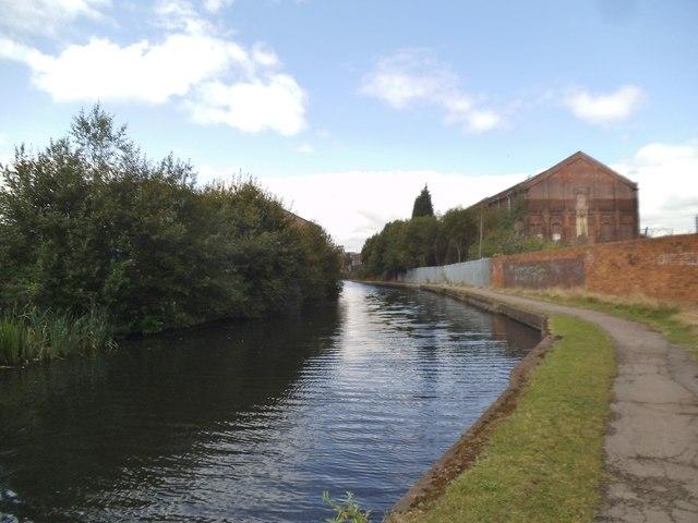 Wolverhampton Canal Scene